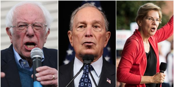 Here's everything we know about the net worth and personal finances of each 2020 Democratic presidential candidate