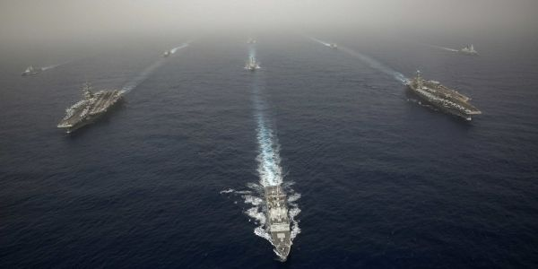 The US Navy just sent Russia a powerful message - with 2 aircraft carriers