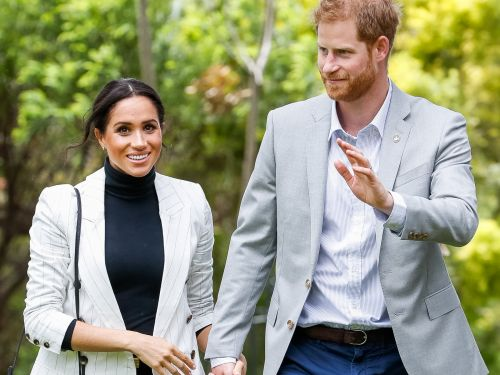 Prince Harry rehearsed an important speech in front of only Meghan Markle, and fans are loving the candid photo