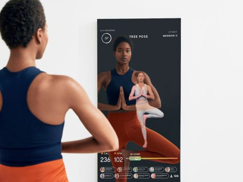 Lululemon is buying Mirror, the startup that sells a $1,500 high-tech mirror for streaming workout classes at home, for $500 million