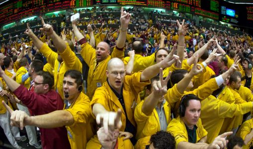 High-speed trading firms have been hoping for market chaos just like this