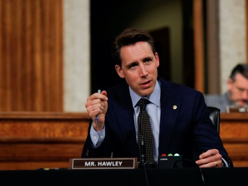 Sen. Josh Hawley criticizes Google over deletion of certain comments critical toward China