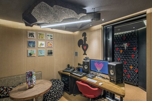 Nando's just opened a recording studio in the middle of its central London restaurant - and it's free to use