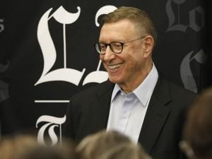 Veteran journalist Norman Pearlstine named executive editor of the Los Angeles Times