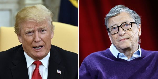 Bill and Melinda Gates say that the best way to put 'America first' is to invest in foreign aid - a not-so-subtle nudge at Trump