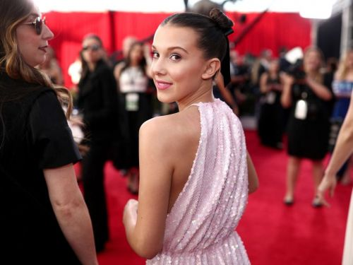 'Stranger Things' star Millie Bobby Brown celebrated her 14th birthday by surprise video-chatting with her superfans