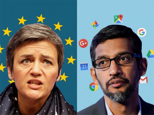 Google fined a record $5 billion by the EU