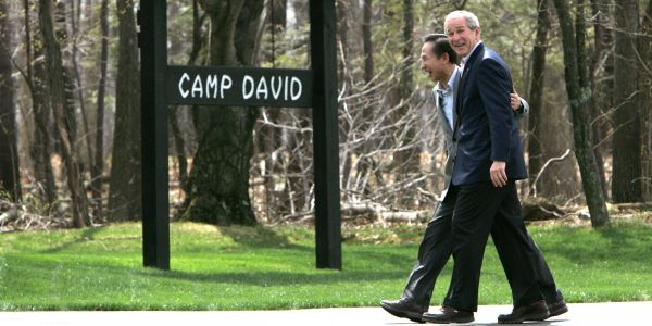 Take a tour of Camp David, where presidents host world leaders and escape Washington