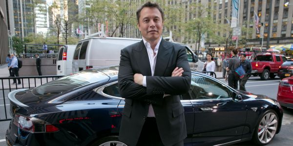 Elon Musk praises Tesla's rivals for finally building electric cars