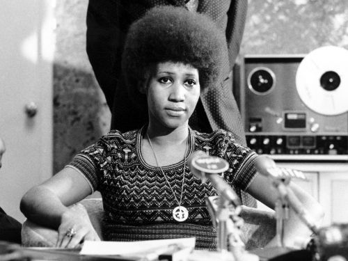 Aretha Franklin was present for some of America's biggest moments - see photos from her incredible life