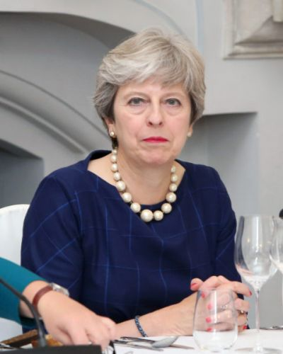 Theresa May, UK Prime Minister, Reminding Parents That The State Owns Their Children Is Satire