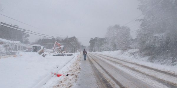 A 'mammoth' storm in North Carolina has knocked out power for more than 300,000, and officials are warning there's more to come