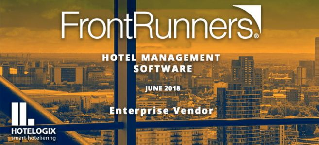 Gartner Names Hotelogix As a 'FrontRunner' in the Hotel Management Category on Software Advice for Enterprise Vendor