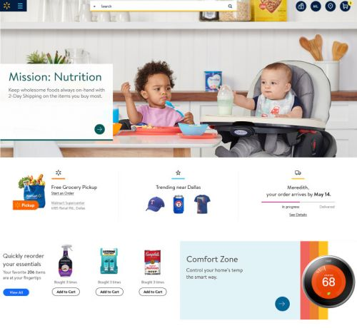 Walmart to launch a more personalized, redesigned website in May
