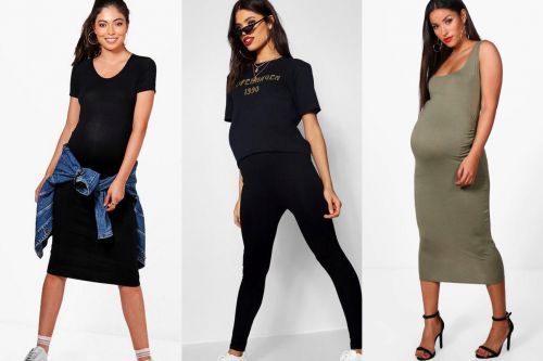 People are accusing a fashion brand of making models wear pillows under their maternity clothes to look pregnant