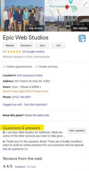 Optimize Your Local Listing with the Google My Business Q&A Feature