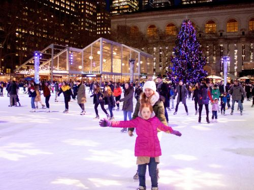 I visited the iconic New York City holiday market with shops and an ice skating rink just steps from Times Square, and the experience was nothing like what I expected