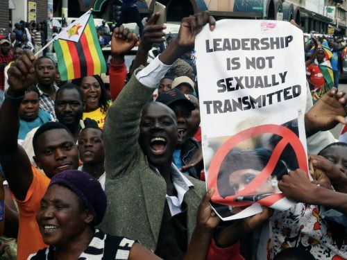 The most powerful photos from the historic anti-Mugabe marches in Zimbabwe