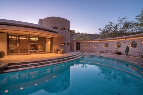 Frank Lloyd Wright's final home is back on the market for $3.25 million - take a look inside