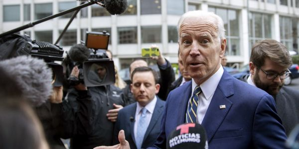 Democratic voters overwhelmingly think the accusations of Joe Biden's inappropriate touching are not disqualifying