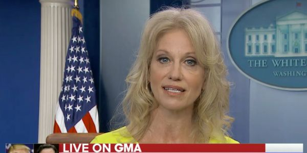 'He swung an election': Kellyanne Conway appears to slip up and credits Comey with Trump's win