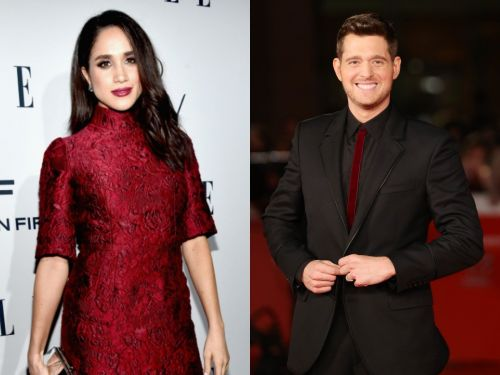Meghan Markle is apparently friends with Michael Bublé, and he even created her a Christmas playlist