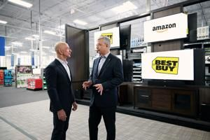 Best Buy and Amazon partner up in exclusive deal to sell new TVs