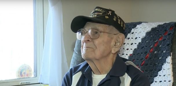 The US Army is granting this 94-year-old WWII vet's dying wish by presenting him with a Purple Heart