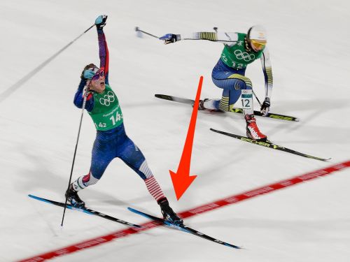 2 women just ended a 42-year US medal drought in cross-country skiing with a thrilling photo finish
