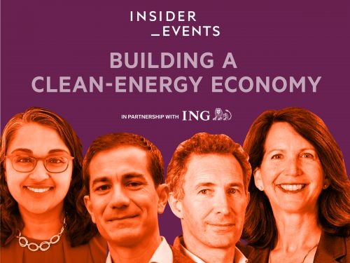 LIVE EVENT: Join us March 8 to hear from leaders across the energy industry on building a new low-carbon economy