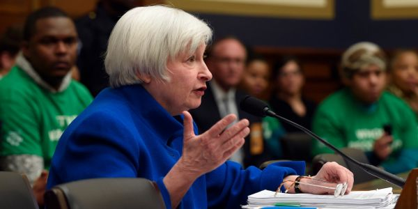 YELLEN: Bitcoin is a 'highly speculative asset'