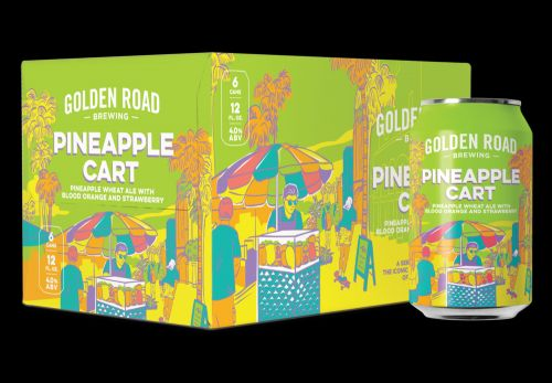 Golden Road Brewing Review: Fruit Cart Series Introduces Stellar Pineapple Cart To Summer Lineup