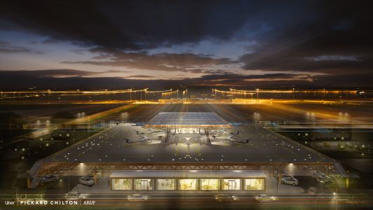 Uber unveils new skyport designs for Uber Air