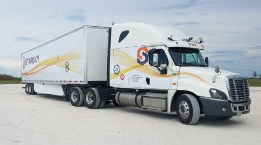 Starsky Robotics remotely drove an unmanned truck 9.4 miles down a Florida highway