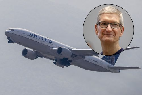 Apple buys 50 business-class seats every day on flights to Shanghai, according to a leaked 'confidential' United sign