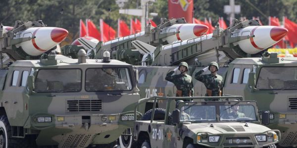 The US and China are gearing up for a missile fight - and the US is at a huge disadvantage