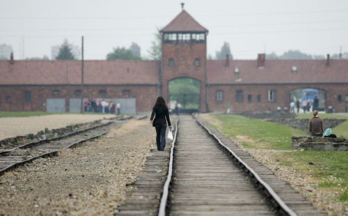 Auschwitz urged people to stop posting photos of themselves posing on railway tracks that carried Holocaust victims to their deaths