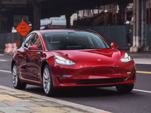 Tesla made a big leap in one of the car industry's most important rankings