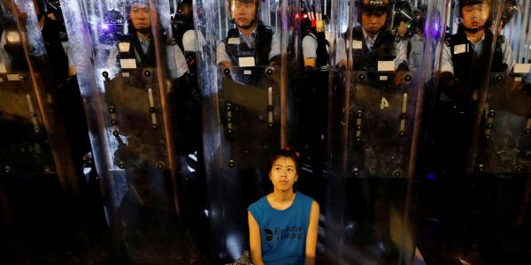 Hong Kong's protesters used low-tech street smarts to smash China's powerful techno-authoritarianism