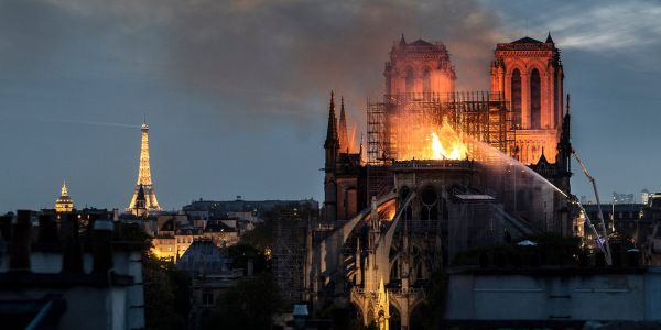 'I was just powerless': A Paris firefighter shared her harrowing account of what it was like inside Notre Dame as they battled the devastating inferno that gutted the famous cathedral
