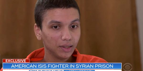 A 22-year-old from Minneapolis who is jailed in Syria says ISIS recruited him on Twitter