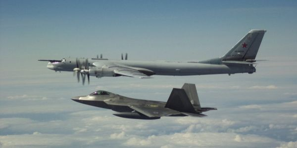 Russia flew bombers off the coast of Alaska twice in two days, forcing the US to scramble stealth fighters in response