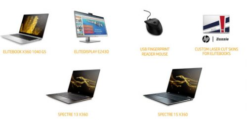 HP unveils fall PC product lineup: EliteBook, fingerprint-reader mouse, new Spectres