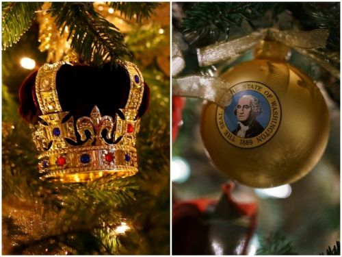 20 photos that show how the White House and the royal family decorate for the holidays