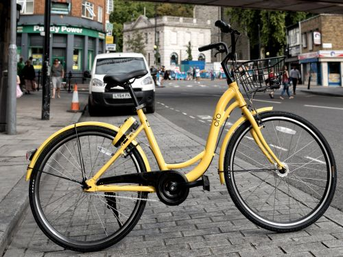 Another Chinese bike-sharing startup is about to drop hundreds of dockless bicycles on London's streets