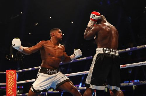 Heavyweight boxing champion Anthony Joshua wants to fight in UFC one day - and he named two of its biggest fighters as potential opponents