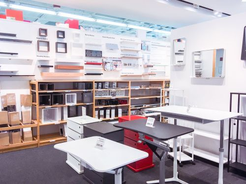 We visited Bed Bath & Beyond and The Container Store -and one was clearly better than the other
