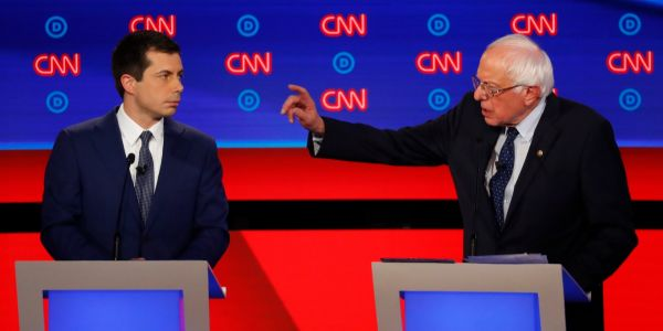 Here are the ages of all the 2020 Democratic presidential candidates and how old they would be upon taking office