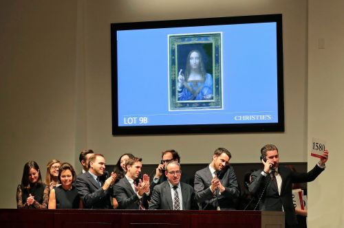 There's even more controversy surrounding the $450 million Leonardo da Vinci painting - and it's getting nasty