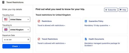Expedia Group Launches COVID-19 Advisor Tool to Track Global Travel Restrictions
